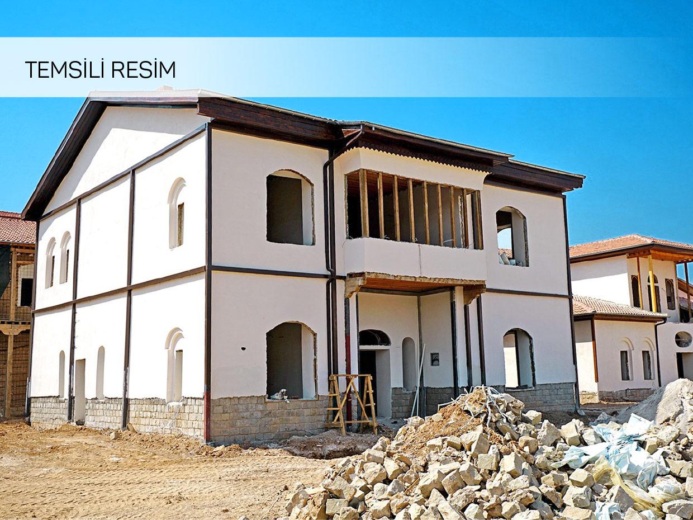 Görgü Cami Mah. 2 Katlı Kerpiç Ev ve Arsa Satılık